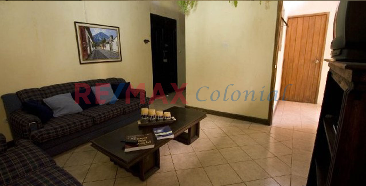 2036 APARTMENT FOR RENT IN ANTIGUA GUATEMALA / Furnished  (jb)