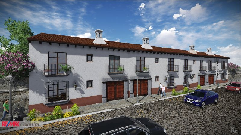 4478 HOME FOR SALE UNDER CONSTRUCTION IN EL PANORAMA – ANTIGUA GUATEMALA (C)