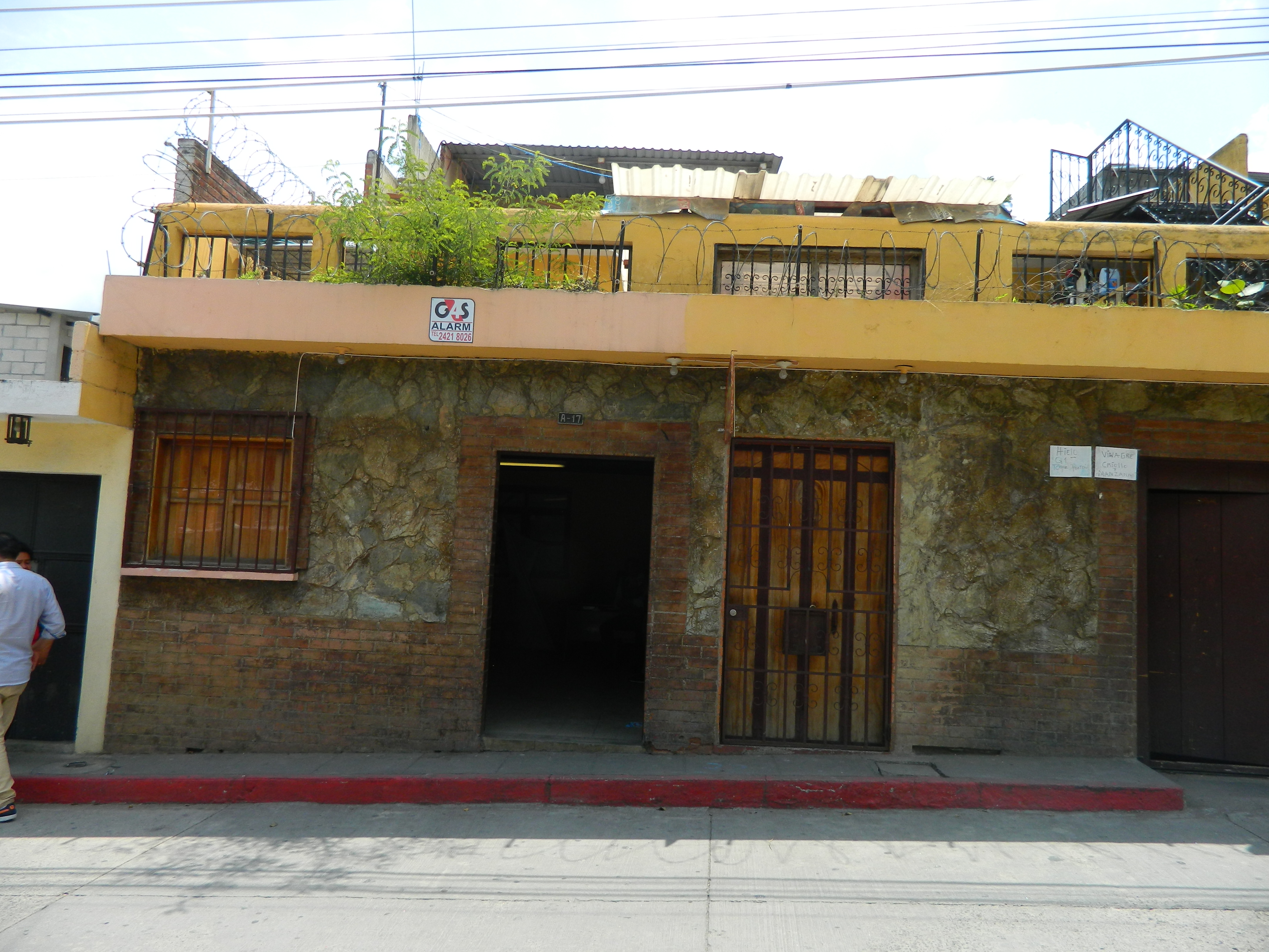 2131 LOCAL COMMERCIAL IN JOCOTENANGO (AVAILABLE AUGUST 2018