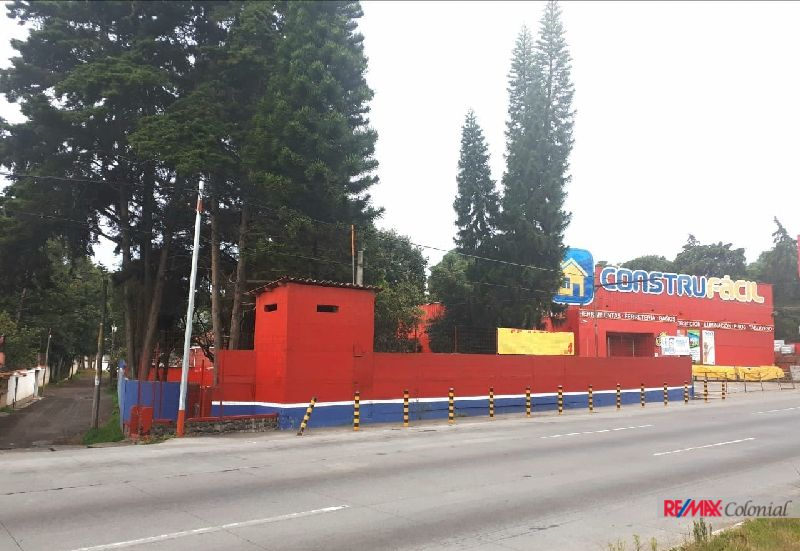 4763 COMMERCIAL LAND FOR RENT NEXT TO THE ROAD IN SAN LUCAS SACATEPEQUEZ