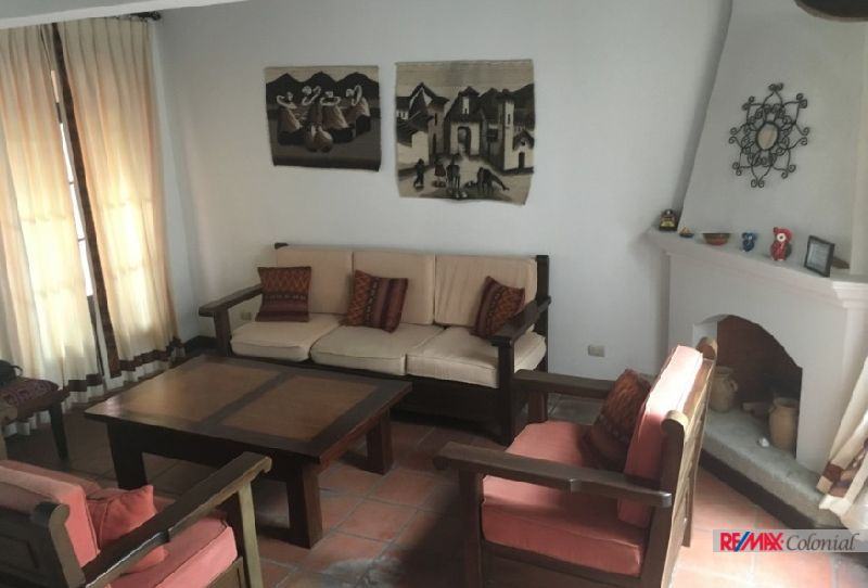 4754 HOUSE FOR RENT IN REAL DE SANTIAGO, ANTIGUA GUATEMALA