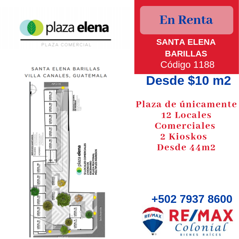 1188 COMMERCIAL SPACES (Plaza Elena)
